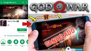 Se Cancelo el God of War 3 para Android  - Adios God of War 3 Android