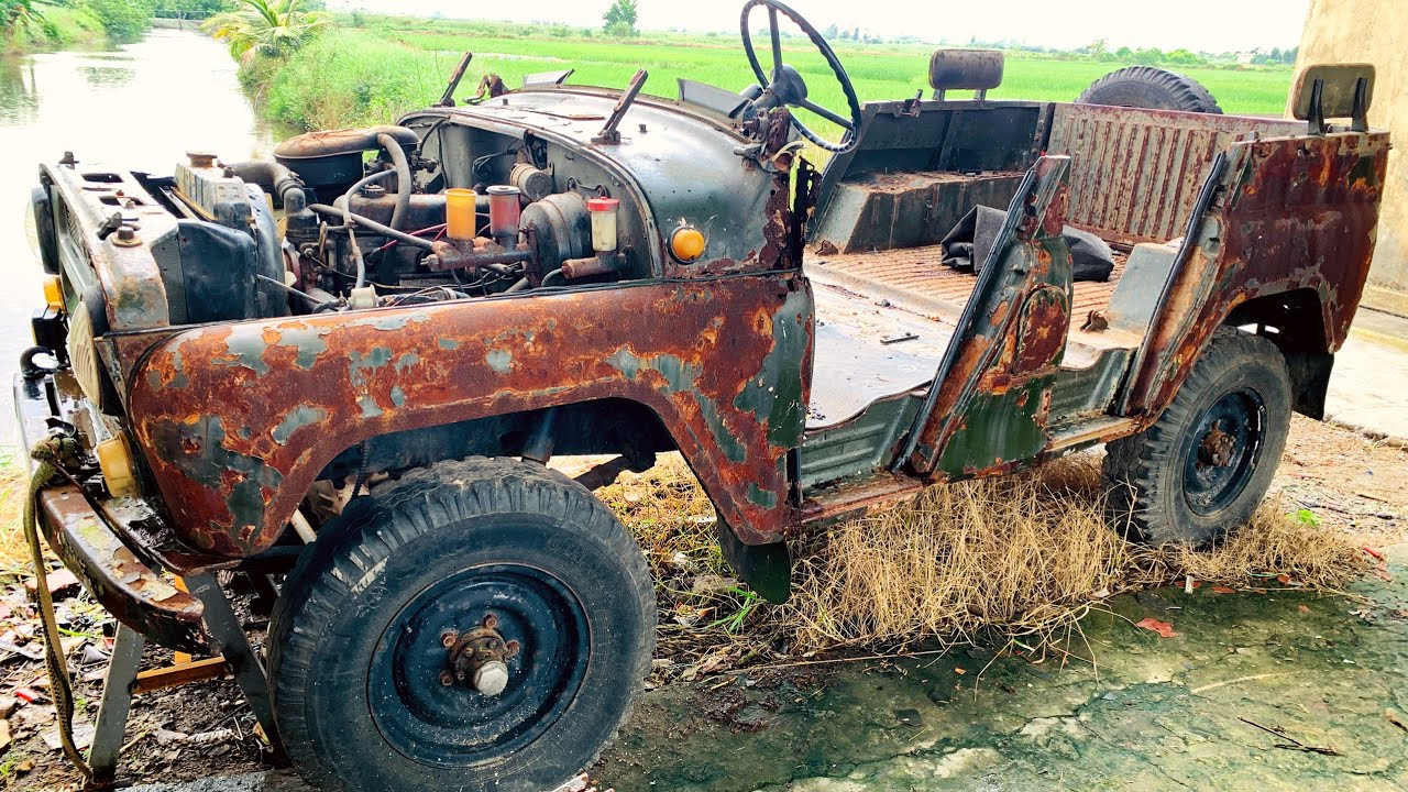 Restoration of ancient cars UAZ 469 | Restore of the drive system UAZ 469 vehicle