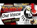 Digimon Tamers - One Vision (MATRIX EVOLUTION) (Guitar Cover by Guitarrista de Atena)