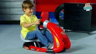 Gyerek autószimulátor Verdák 3 Smoby V8 Driver ele
