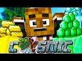 STRANDED ON A PRISON PLANET! - Minecraft Prisons COSMIC JAIL BREAK w/ Tewtiy #1