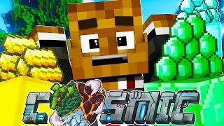 STRANDED ON A PRISON PLANET! - Minecraft Prisons COSMIC JAIL BREAK w/ Tewtiy #1 | JeromeASF