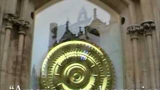 Corpus Clock and Chronophage and people