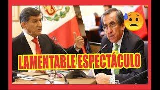 JORGE DEL CASTILLO SUSPENDIÓ SESIÓN CUANDO REVELARON  INSULTOS DEL SECRETARIO  DE ALAN GARCÍA