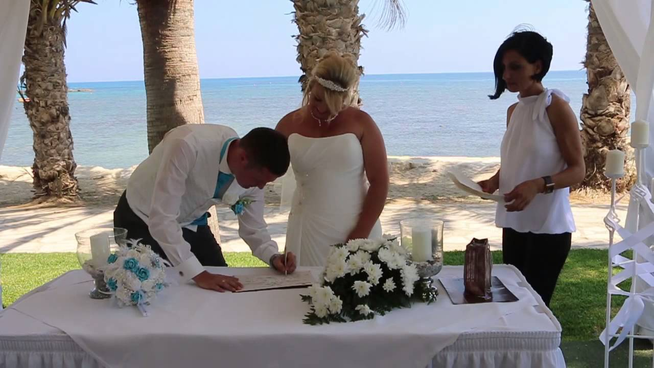 The Cyprus Wedding Of Kayleigh And Rob Louis Phaethon Beach Hotel Windmill Paphos