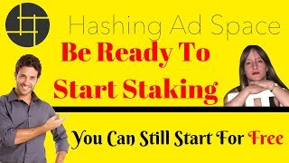 Hashing Ad Space Be Ready To Start Staking!