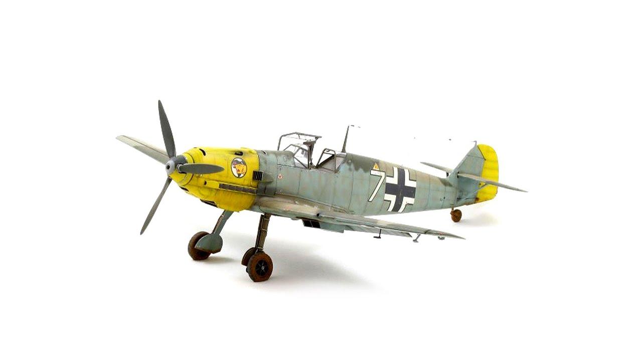 Мастер класс – рекомендации по сборке модели Мессешмитт BF-109E от Eduard в масштабе 1:32