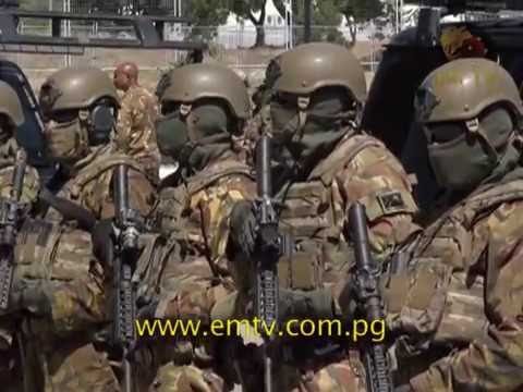 PNG Defence Special Force Prepare for 2018 APEC
