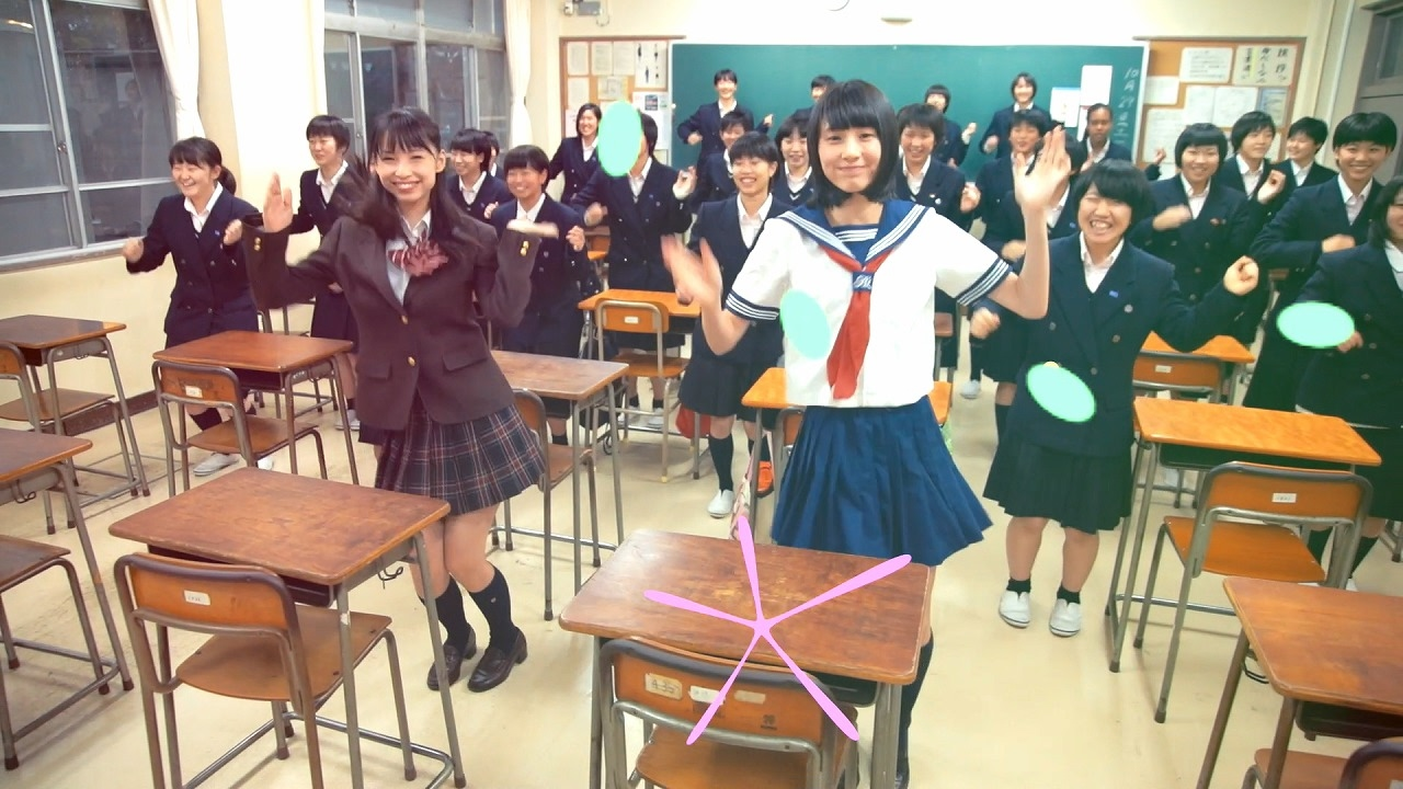 【引きver】3058人がダンス!久喜市PRビデオ「1000人クッキー ...