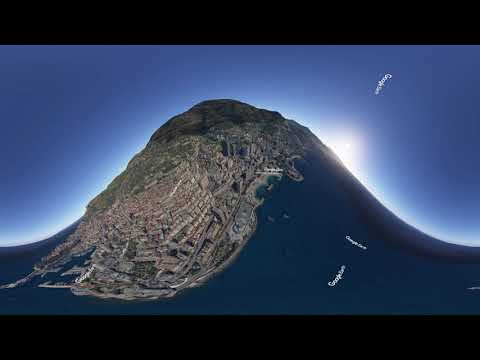 Test Google Earth Studio for 360° video by Experience 360