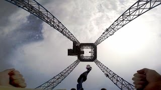 Sky Tower on-ride HD POV Tivoli Friheden