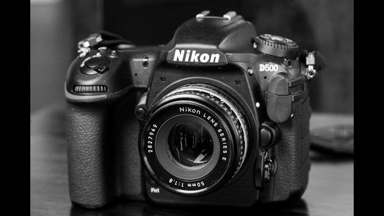 nikon d500 and manual focus lenses what i m shooting with this rh youtube com Nikon Rangefinder Camera Nikon Digital SLR Comparison Chart