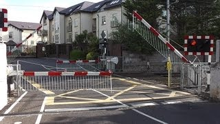 Level Crossing - Claremont Road, Dublin
