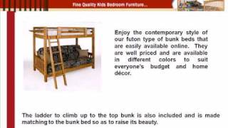 Full Futon Bunk Bed