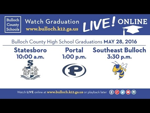 2016 Statesboro High School Graduation