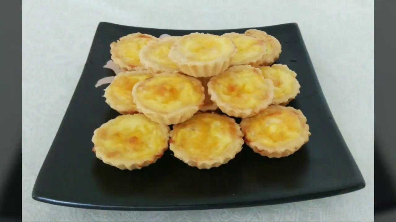 БРАЗИЛЬСКАЯ КУХНЯ: Тарталетки с сыром (Empadinhas de queijo)