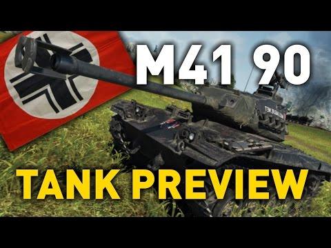 World of Tanks    leKpz M41 90 mm - Tank Review