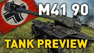 world of Tanks  leKpz M41 90 mm - Tank Review