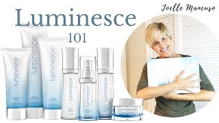 Jeunesse Luminesce Skincare 101
