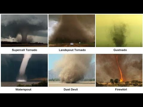 different classifications of tornadoes The enhanced fujita scale different structures  the table shown to the right shows other variations of the tornado rating classifications based on certain areas.