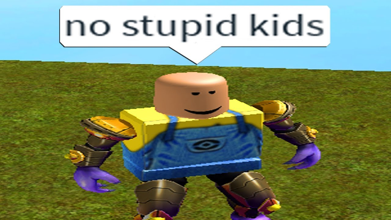 Young People Can T Play This Roblox Game Youtube
