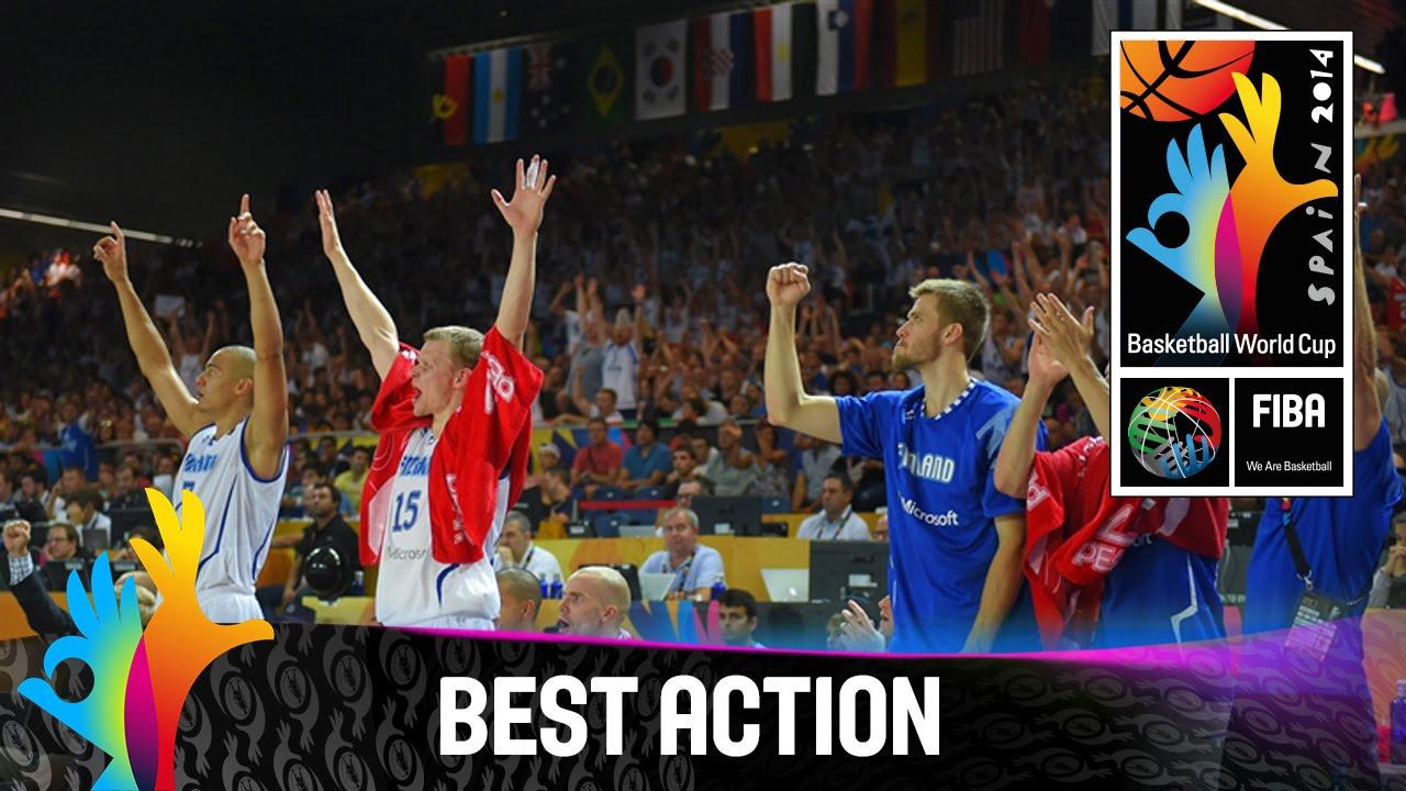 Finland v Ukraine - Best Action