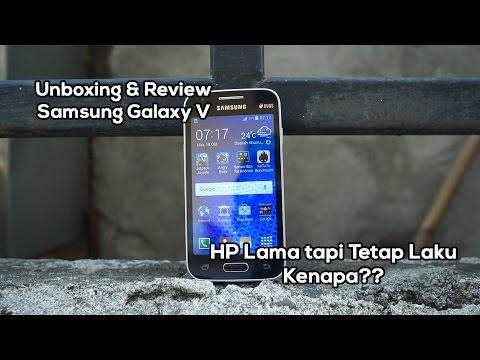 Unboxing & Review Samsung Galaxy V Indonesia