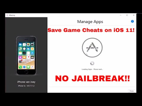 How To Apply Save Game Cheats on iOS  & Lower [No Jailbreak - iMazing]