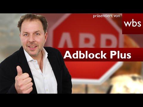Adblock Plus erneut vor Gericht | Rechtsanwalt Christian Solmecke