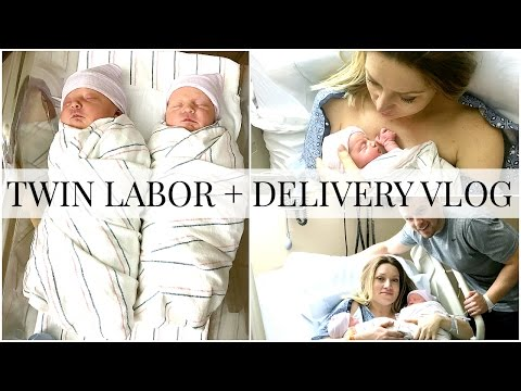 Twin Labor + Delivery Vlog | Kendra Atkins