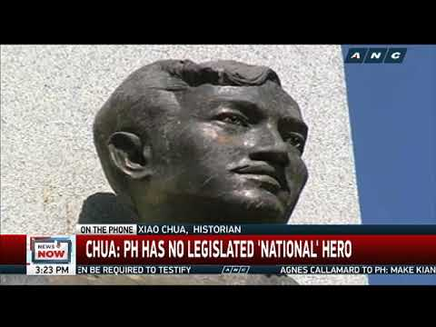 Who are considered national heroes?