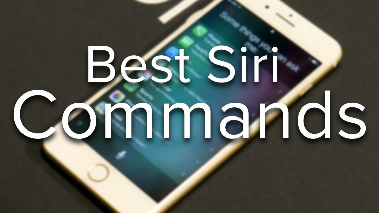 Best siri commands