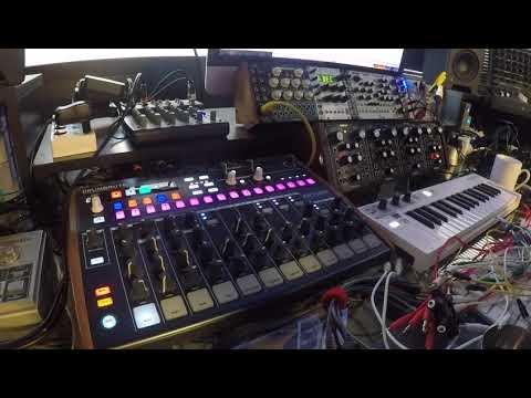 Drumbrute & Eurorack percussions setup