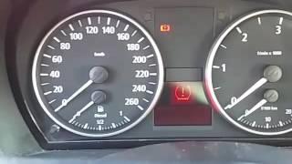 Voyant de crevaison BMW 320d e90 163cv