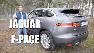 Jaguar F-Pace (ENG) - First Test Drive and Review