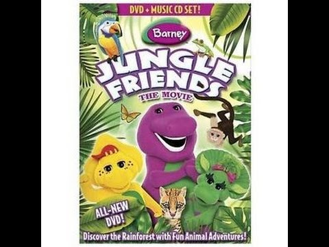 Opening To Barneys Jungle Friendsthe Movie 2009 Dvd Youtube