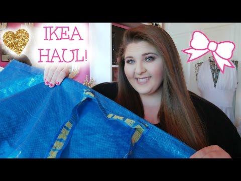 IKEA HOME DECOR HAUL!! ♡ THE PINKEST IKEA HAUL EVER!