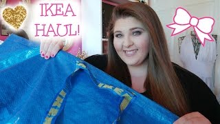 IKEA HOME DECOR HAUL!! THE PINKEST IKEA HAUL EVER!