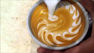 Wave Heart - Latte Art