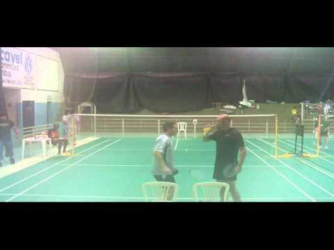 Badminton Londrina FIORI (BRA) x ARIS (PY).avi