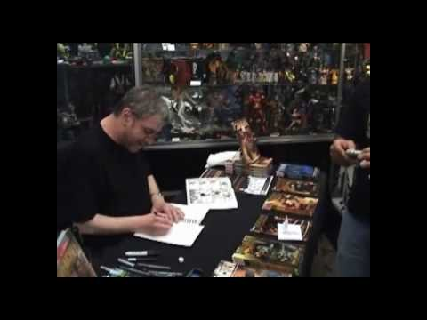 Steve Dillon Signing 6-8-10at Forbidden Planet NYC
