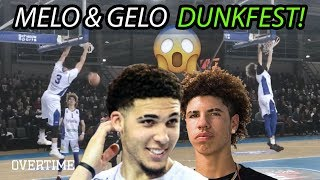 LaMelo & Gelo Ball Dunk EVERYTHING & Drop 60 In Third Lithuanian Game! FULL HIGHLIGHTS!