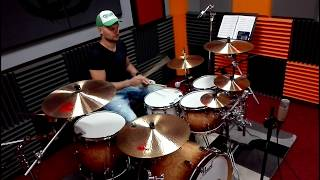 PERKUSJA Paradiddle w rytmie podstawowym / Basic groove with paradiddle - DOUBLE TIME Skawina