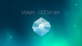 Mylight - UCCW skin/theme - Tutorial (Android)