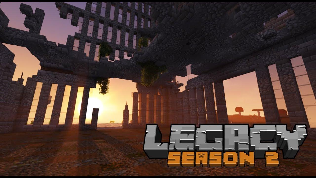 Legacy SMP Season 2: Episode 05 - To the sky!