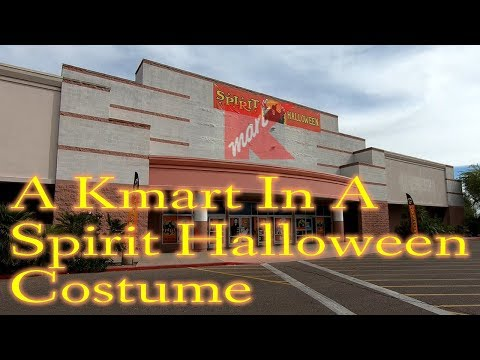 A Kmart In A Spirit Halloween Costume | Retail Archaeology