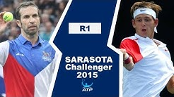 Radek Stepanek vs Jared Donaldson | SARASOTA 2015