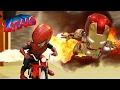 BABY SPIDERMAN The IRONMAN BABYS STOP MOTION VIDEO