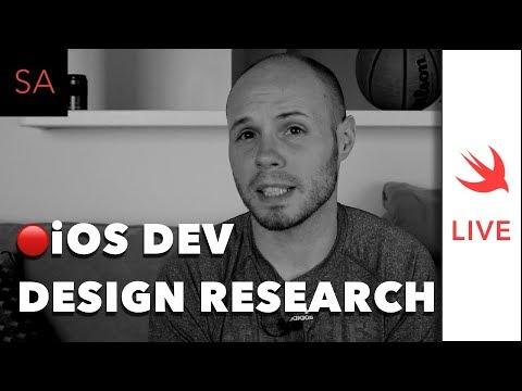 LIVE: Design Research as an iOS Developer
