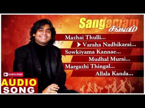 Sangamam Tamil Movie Songs   Audio Jukebox   Rahman   Vindhya   AR Rahman   Music Master